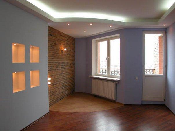 Дизайн однокомнатной квартиры Фото интерьера 1